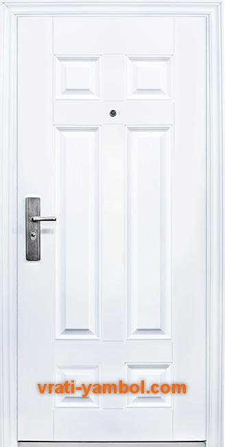 Блиндирана входна врата модел 666