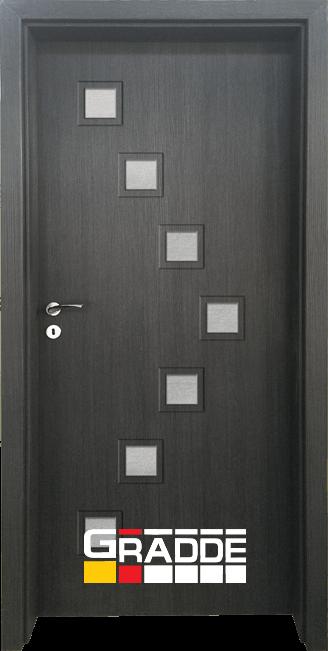 Интериорна HDF врата, модел Gradde Zwinger, Череша Сан Диего