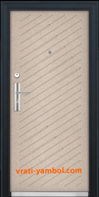 Блиндирана входна врата, модел 703
