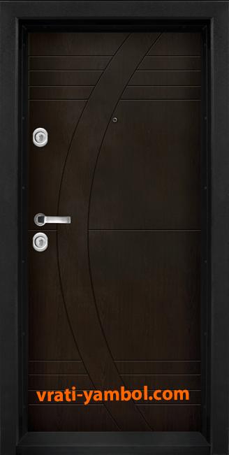Блиндирана входна врата, модел T909