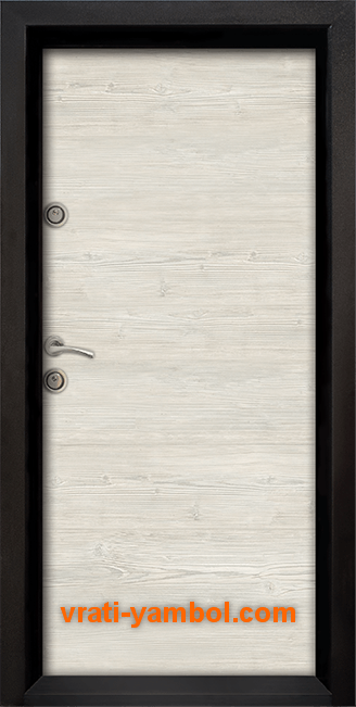 Блиндирана входна врата, модел Ale Door 402, цвят Sunta