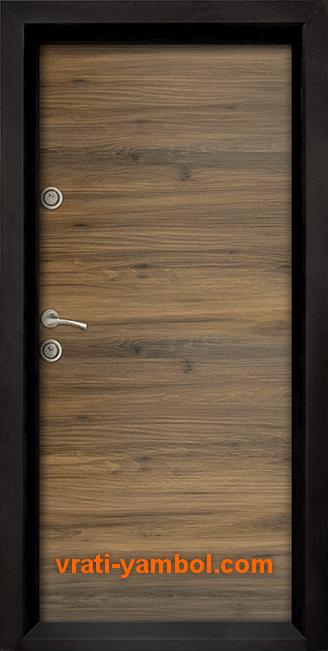 Блиндирана входна врата, модел Ale Door 404, цвят Napoli