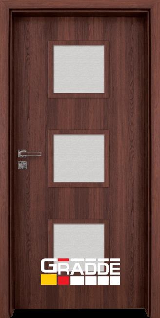 Интериорна врата Граде, Bergedorf, Шведски дъб