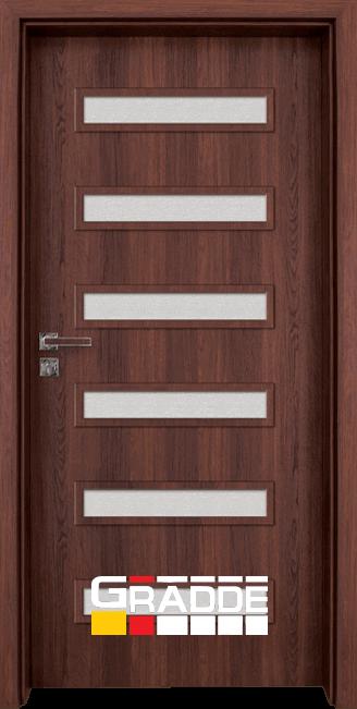 Интериорна врата Граде, Шверин, Шведски дъб