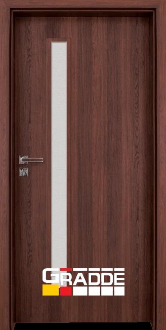 Интериорна HDF врата, модел Gradde Wartburg, Шведски дъб