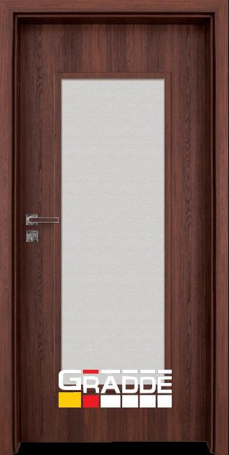 Интериорна HDF врата, модел Gradde Baden, Modell 1, Шведски дъб