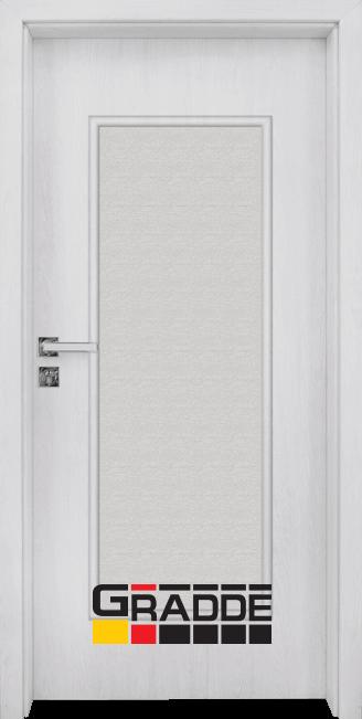 Интериорна HDF врата, модел Gradde Baden, Modell 1, Сибирска лиственица